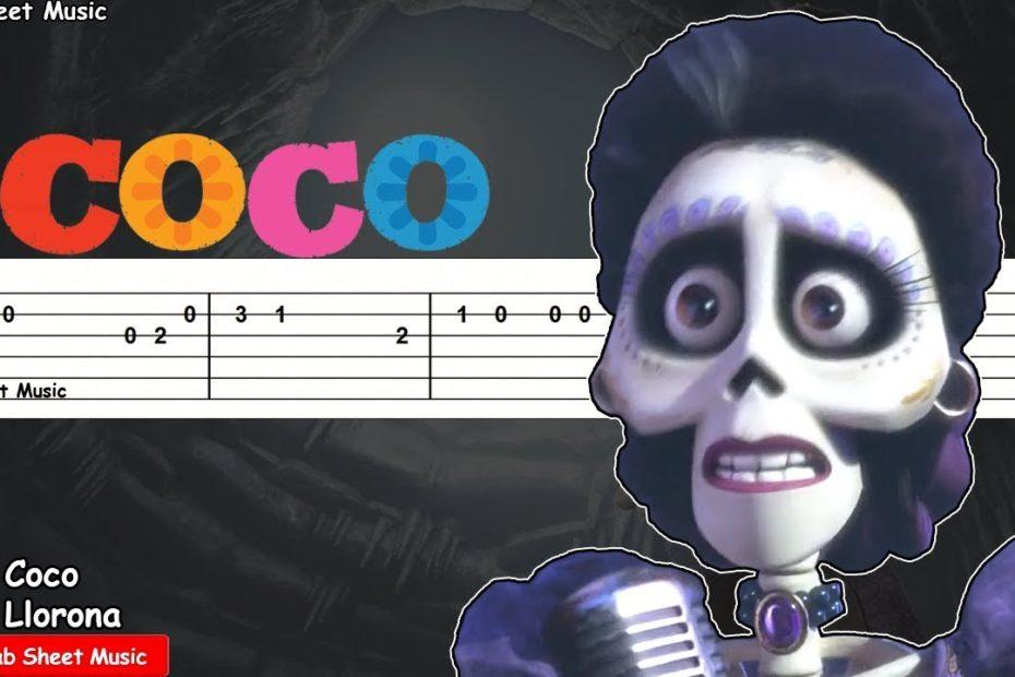 Coco - La Llorona Guitar Tutorial