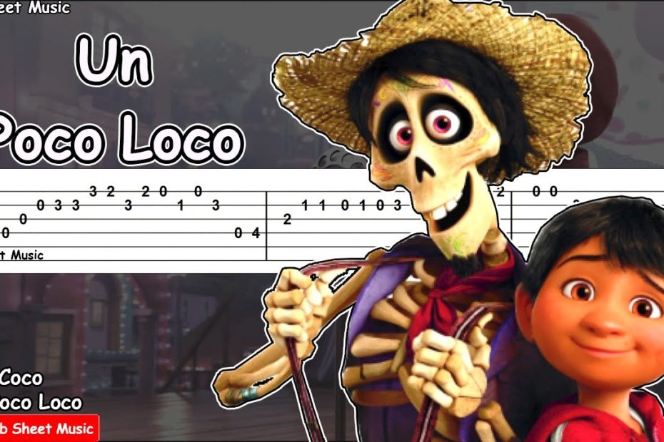 Coco - Un Poco Loco Guitar Tutorial