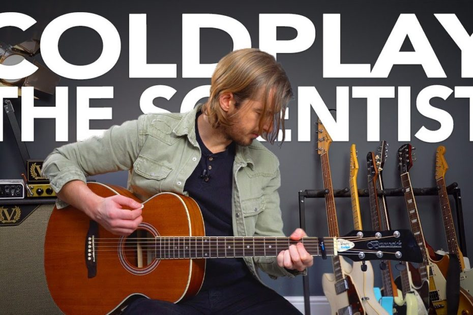 """Coldplay """"The Scientist"""" Guitar Lesson - for Beginner AND Intermediate level"""