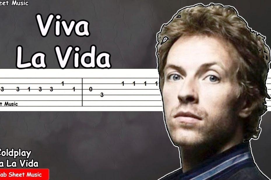 Coldplay - Viva La Vida Guitar Tutorial