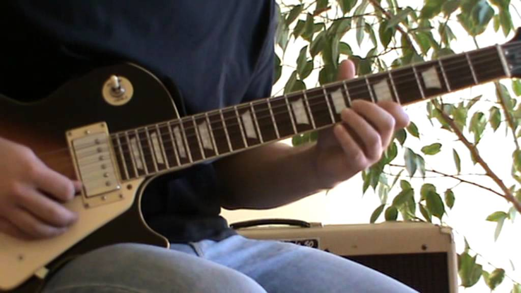 Come On Let's Go solo cover with TAB (guitar solo lesson)