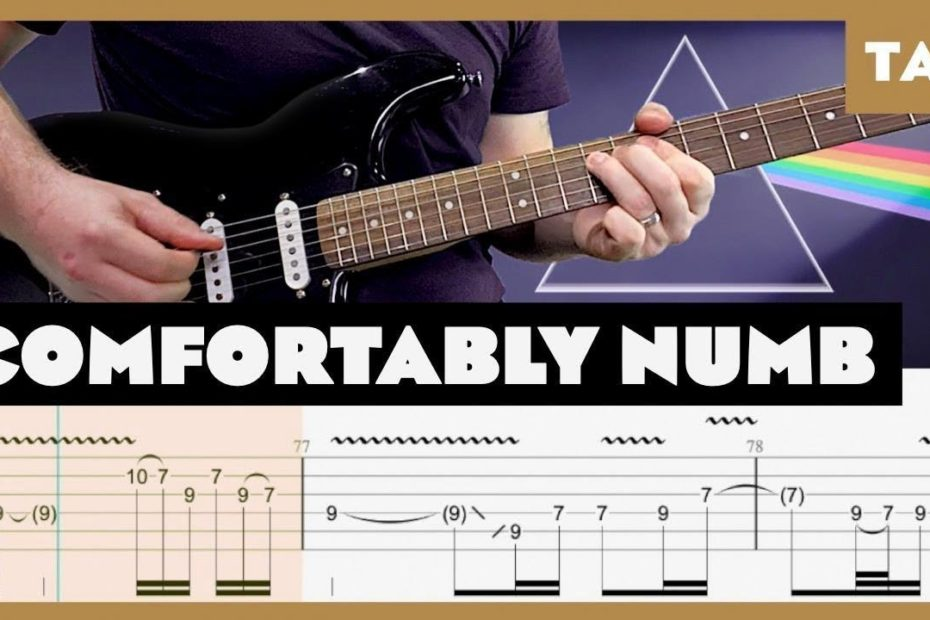 Comfortably Numb Pink Floyd Cover | Guitar Tab | Lesson | Tutorial