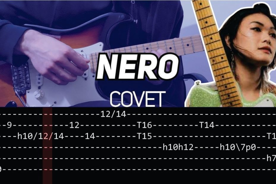 Covet - Nero riff (Guitar lesson with TAB)