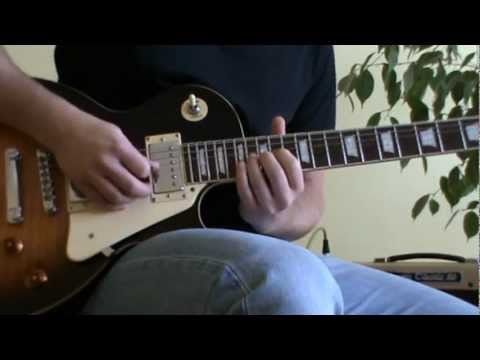 Crazy Little Thing Called Love solo cover with TAB (guitar solo lesson)
