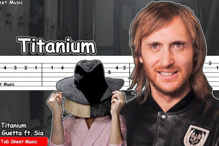 David Guetta - Titanium ft. Sia Guitar Tutorial | TAB