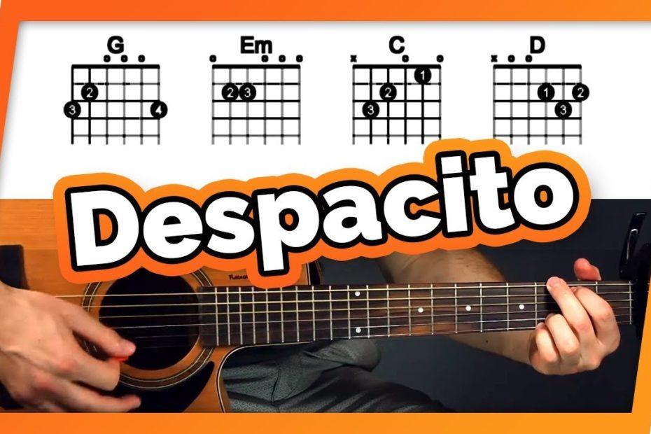 Despacito Guitar Tutorial (Luis Fonsi ft. Daddy Yankee & Justin Bieber) Easy Chords Guitar Lesson