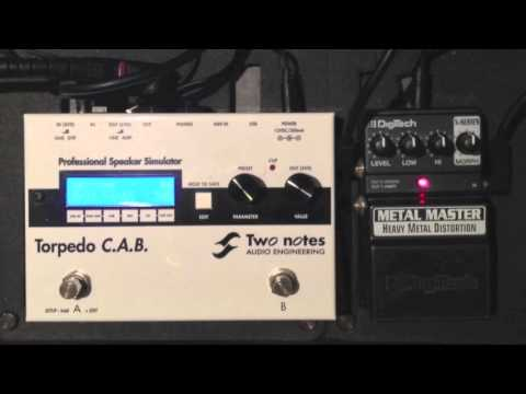 Digitech Metal Master/Heavy Metal - Two Notes Torpedo C.A.B.