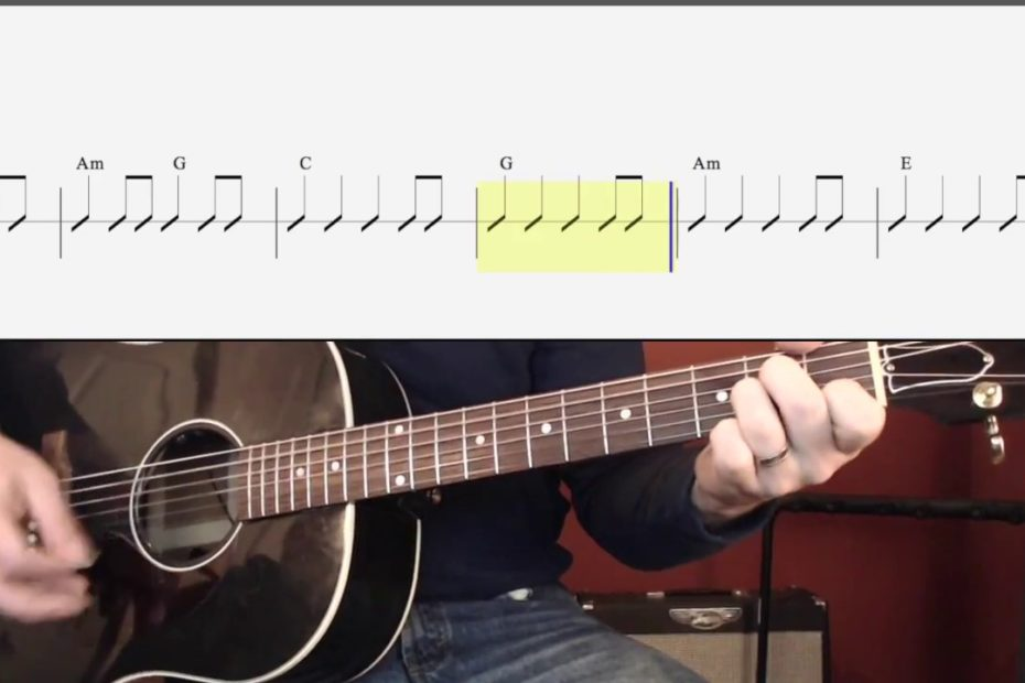 Don't Look Back in Anger (Chords and Strumming) Watch and Learn Guitar Lesson for Beginners