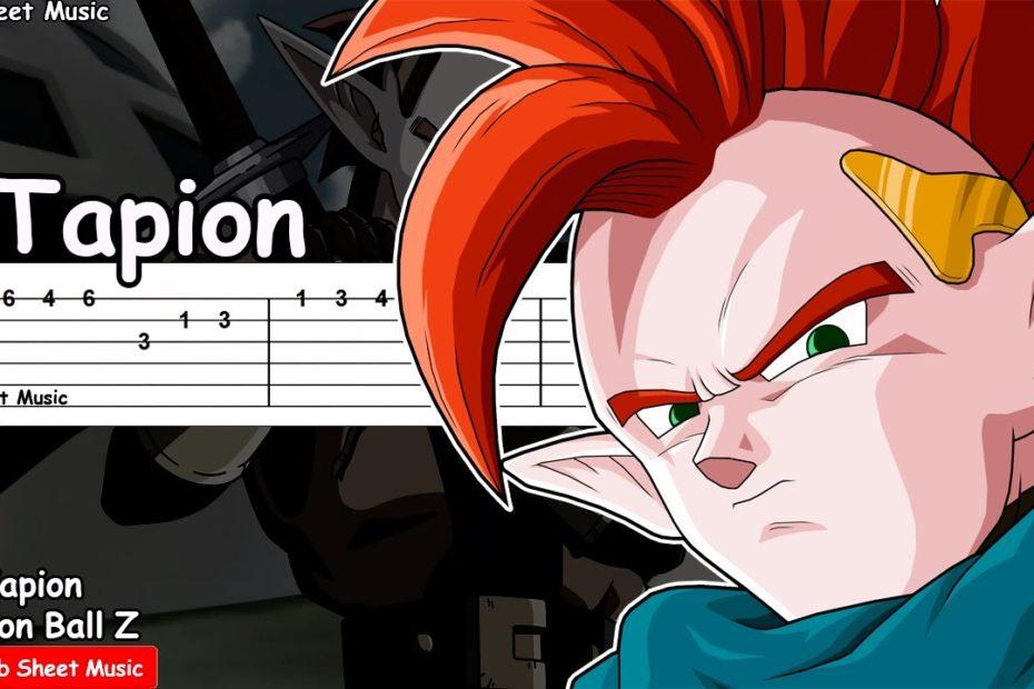 Dragon Ball Z OST - Tapion Theme Guitar Tutorial
