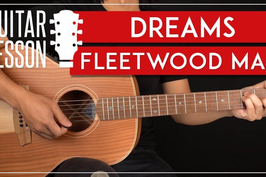 Dreams Guitar Tutorial Fleetwood Mac Guitar Lesson |Easy Chords|