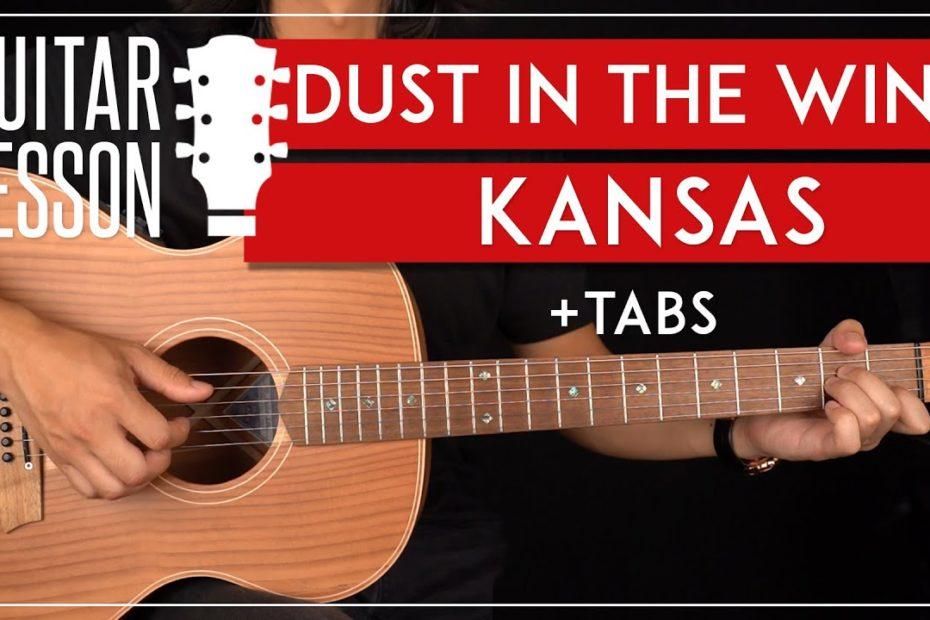 Dust In The Wind Guitar Tutorial  Kansas Guitar Lesson |Fingerpicking + TAB