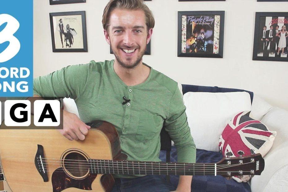 EASY 3 Chord Guitar Song - Free Fallin' Tom Petty/ John Mayer (Strumming + Fingerstyle)
