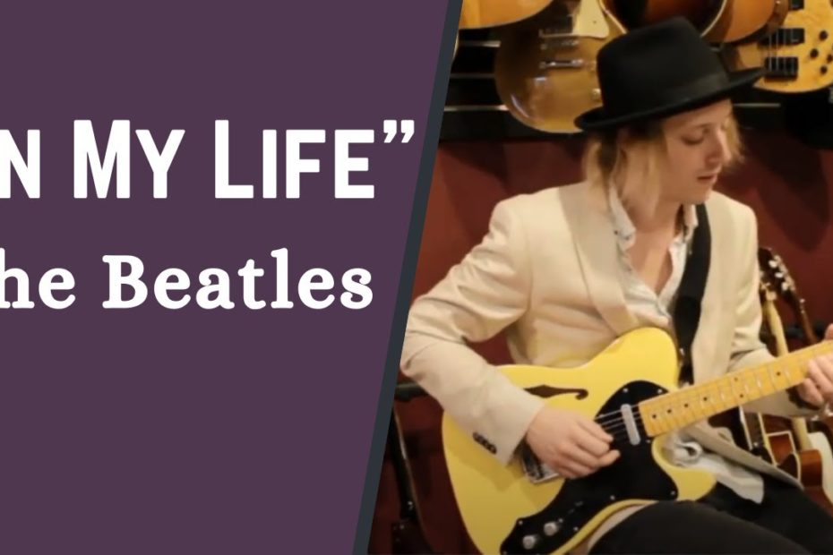 """Easy Guitar Lesson on How to Play """"In My Life"""" by The Beatles w/ Jon Maclennan"""