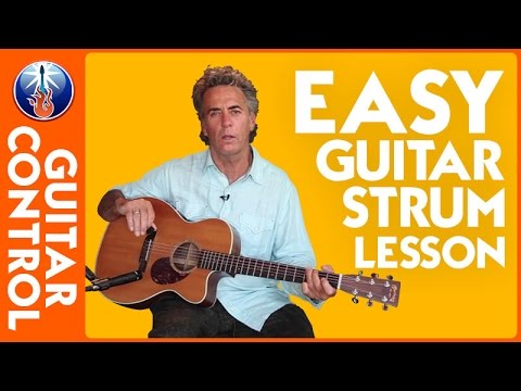 Easy Guitar Strum Lesson  - Tom Petty Style Guitar with Jimmy Dillon