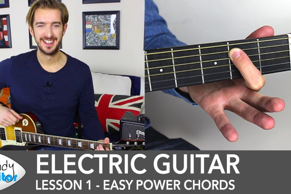 Electric Guitar Lesson 1 - Rock Guitar Lessons for Beginners