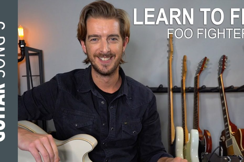 Electric Guitar Song 3 - LEARN TO FLY // Foo Fighters Guitar Lesson Tutorial