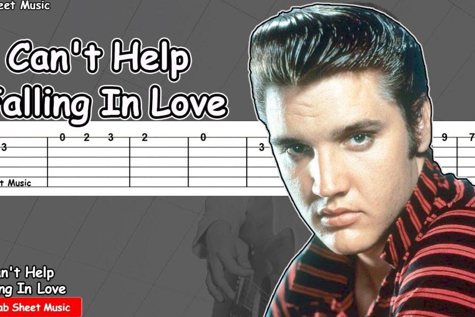 Elvis Presley - Can't Help Falling In Love Guitar Tutorial