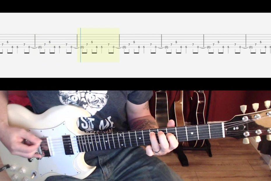 Enter Sandman Intro Guitar Riff