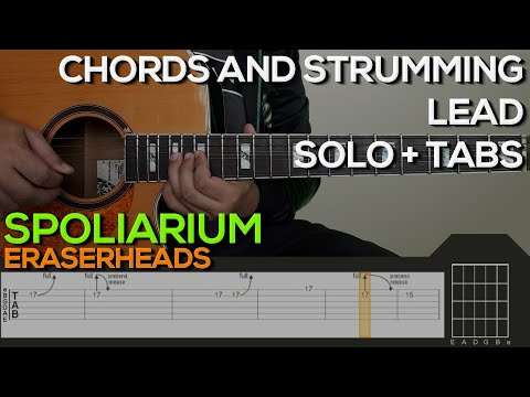 Eraserheads - Spoliarium Guitar Tutorial [CHORDS AND STRUMMING, SOLO + TABS]