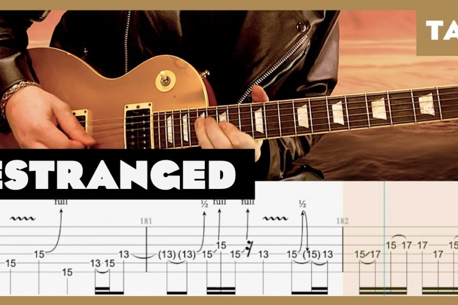 Estranged Guns N' Roses Cover   Guitar Tab   Lesson   Tutorial