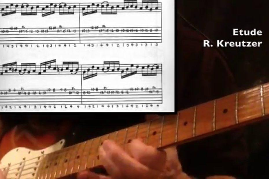 Etude - Rodolphe Kreutzer (Guitar Cover + tab)