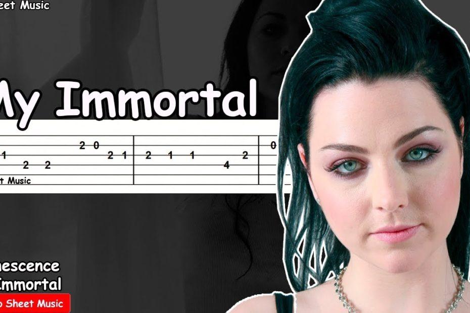 Evanescence - My Immortal Guitar Tutorial
