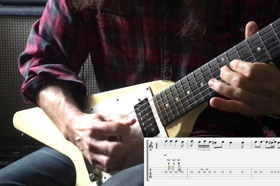 Evil - Mercyful Fate (Guitar Solo Cover + TAB)
