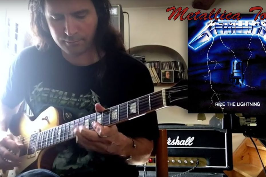 Fade to Black (ending solo) - Ride The Lighning Tone : Marshall JMP 2204