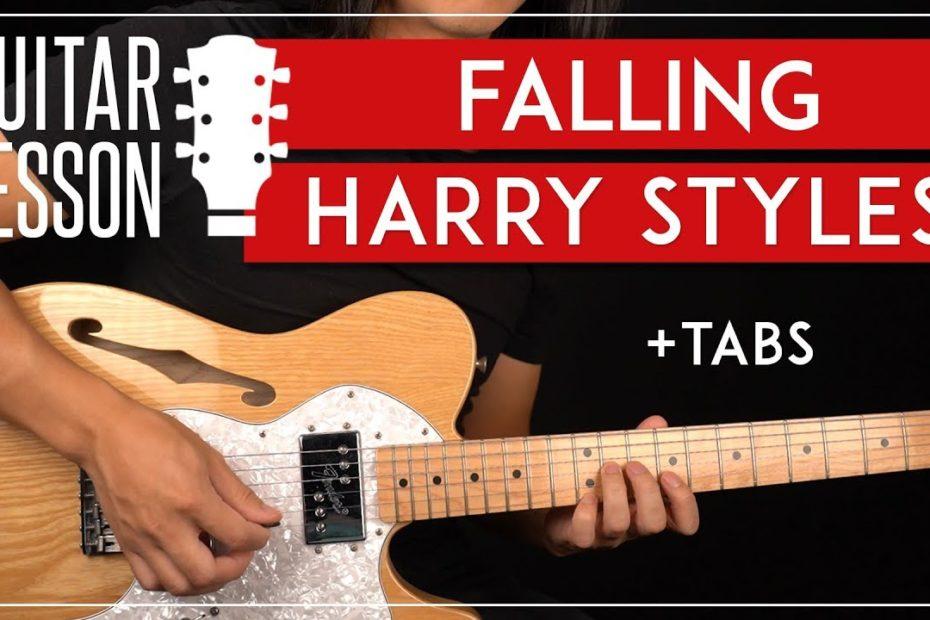 Falling Guitar Tutorial   Harry Styles Guitar Lesson  Easy Chords + TAB 