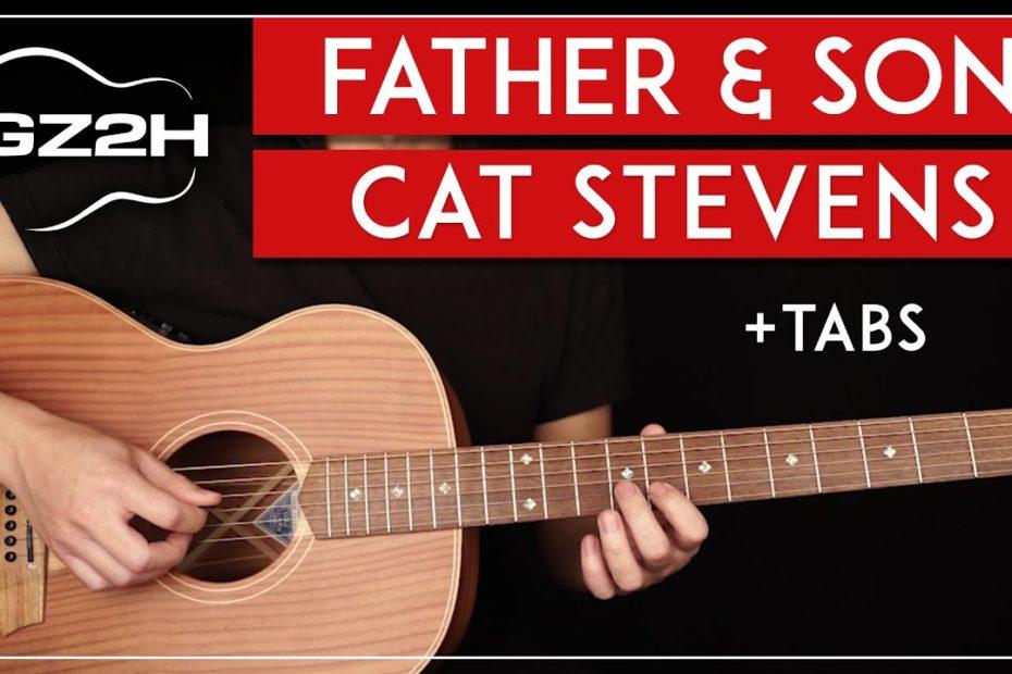 Father & Son Guitar Tutorial Cat Stevens Guitar Lesson |Chords + Solo|