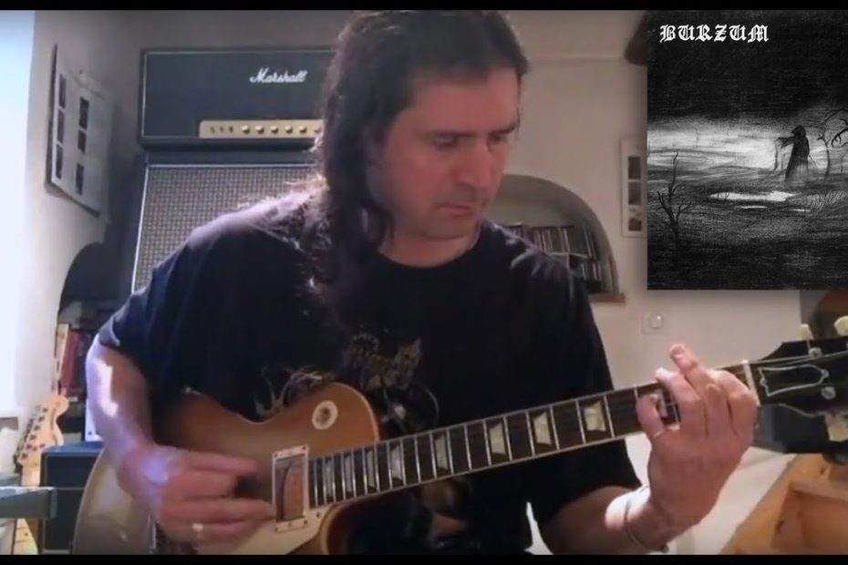 Feeble Screams From Forests Unknown - Burzum (Rifforama + TAB + Backing Track)