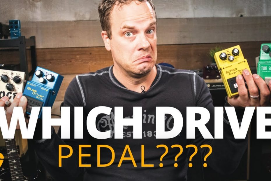 Find the Perfect Drive Pedal for YOU!