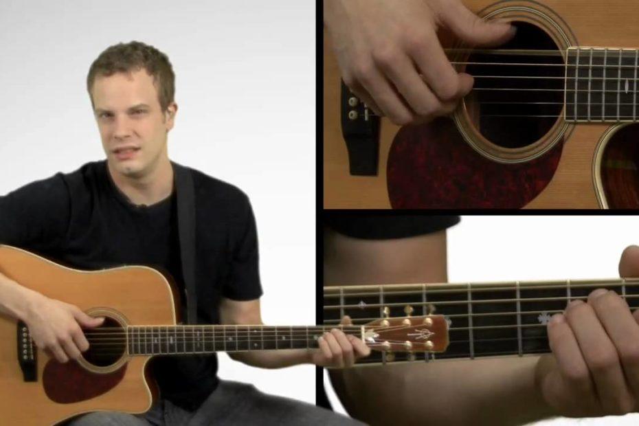 Finger Picking Guitar Lesson - Finger Picking Basics