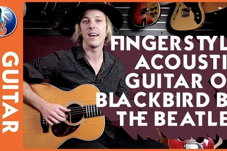 Fingerstyle Acoustic Guitar on Blackbird by The Beatles