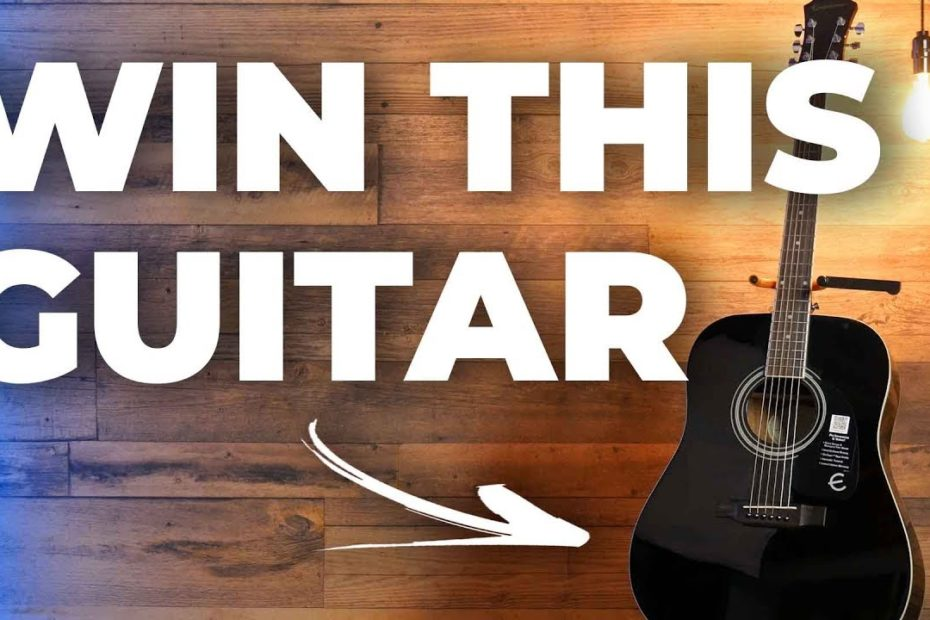 FREE GUITAR GIVEAWAY! ENTER NOW!!