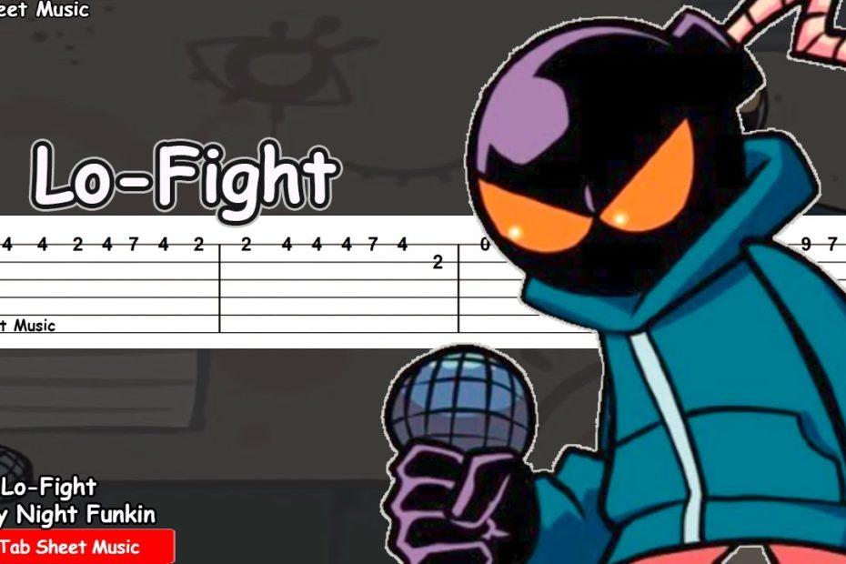 Friday Night Funkin - Lo-Fight (VS Whitty) Guitar Tutorial