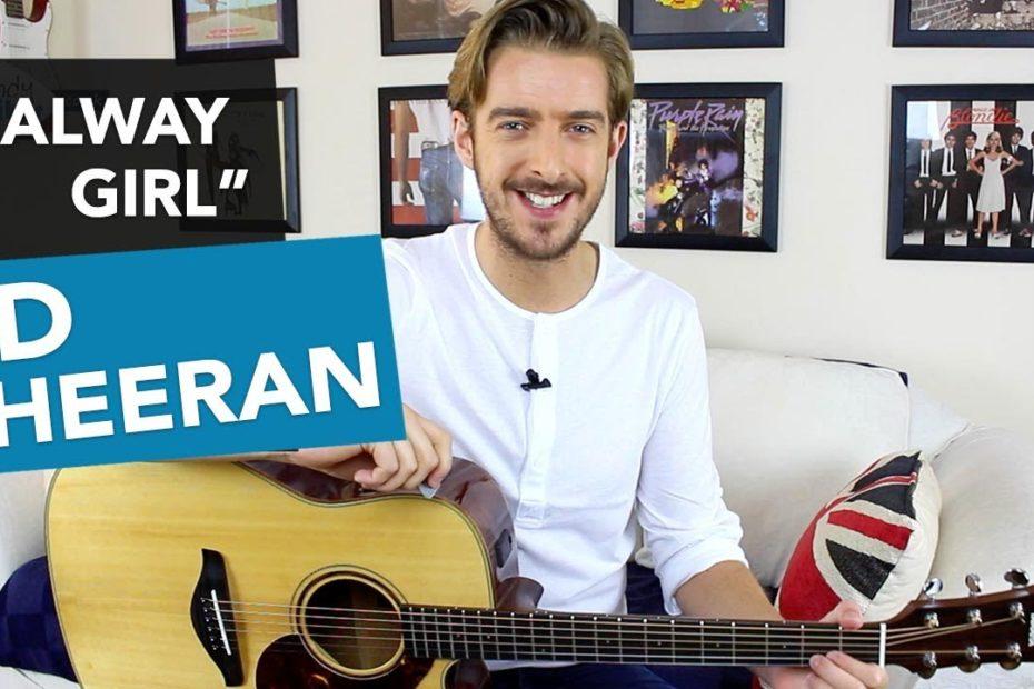 Galway Girl - Ed Sheeran Guitar Lesson Tutorial - Galway Girl Chords ÷