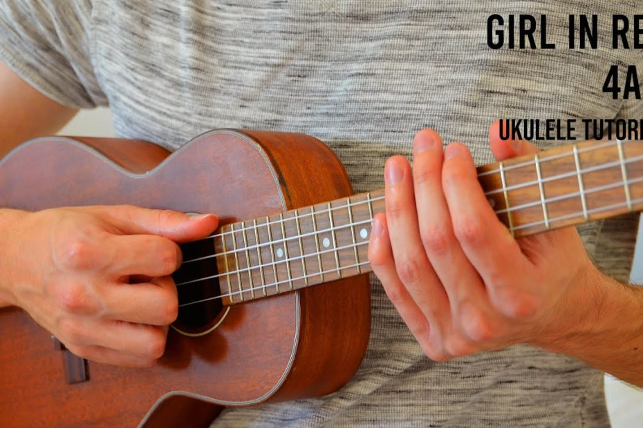girl in red - 4am EASY Ukulele Tutorial With Chords / Lyrics