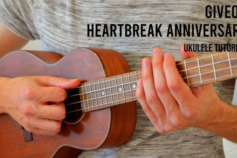Giveon – Heartbreak Anniversary EASY Ukulele Tutorial With Chords / Lyrics
