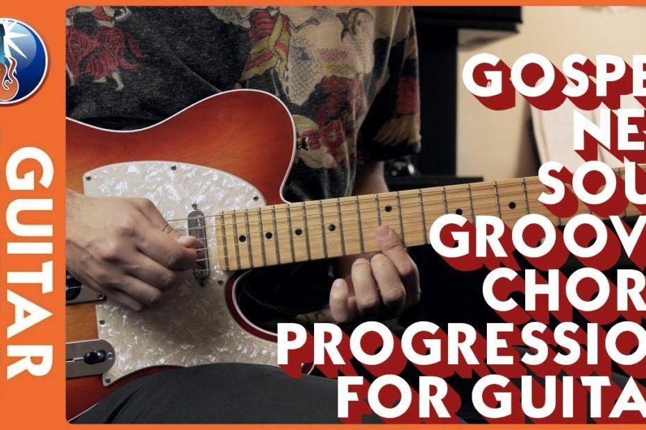 Gospel Neo Soul Groovy Chord Progression For Guitar