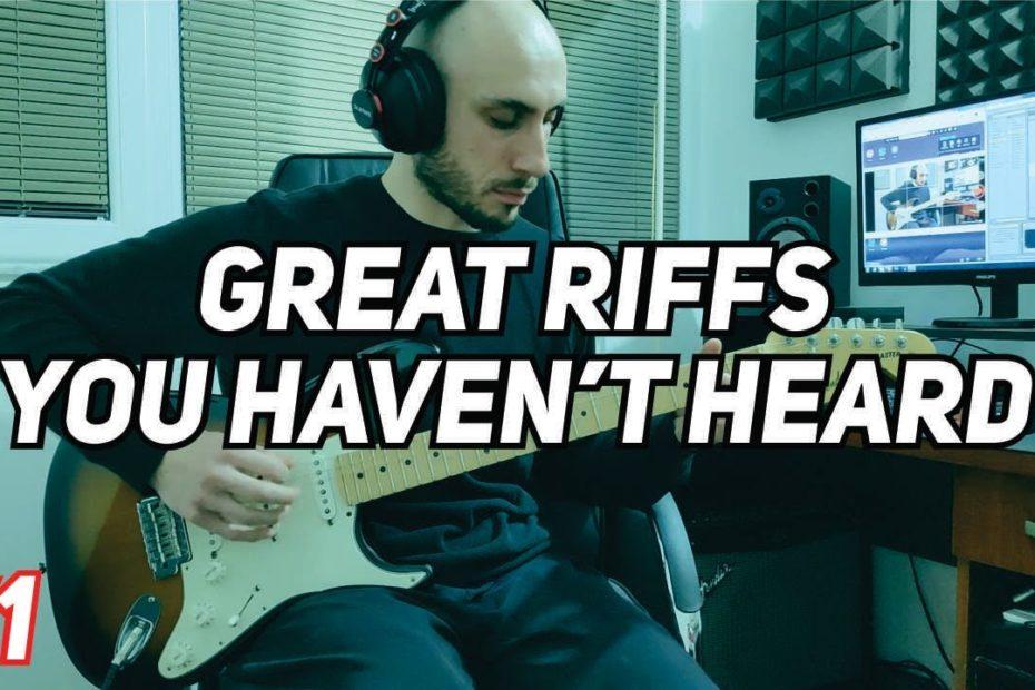 Great Guitar Riffs You Haven't Heard #1 | Alpha Male Tea Party