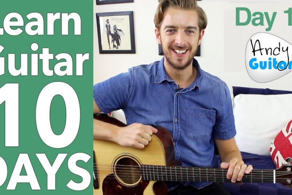 Guitar Lesson 10 - Blues Shuffle Riff & Buddy Holly Song!