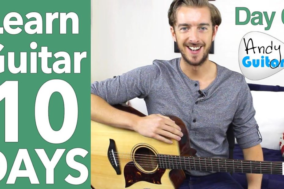 Guitar Lesson 6 - EASY Fingerstyle & Minor Chords - Ain't no sunshine Tutorial