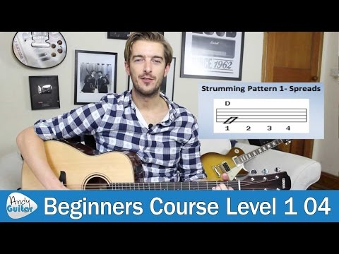 Guitar Strumming Lesson 1 - Bars and Beats - Beginners Course Lesson 4)