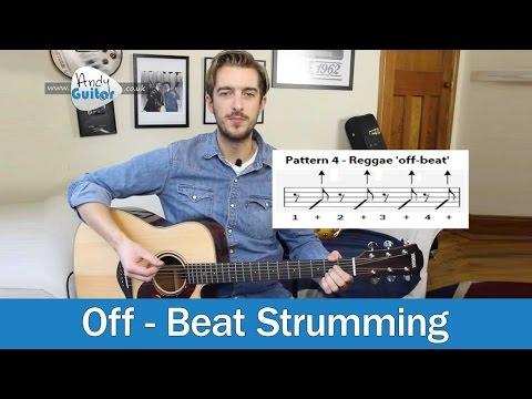 Guitar Strumming Tutorial - The Off-Beat (Level 4 02)
