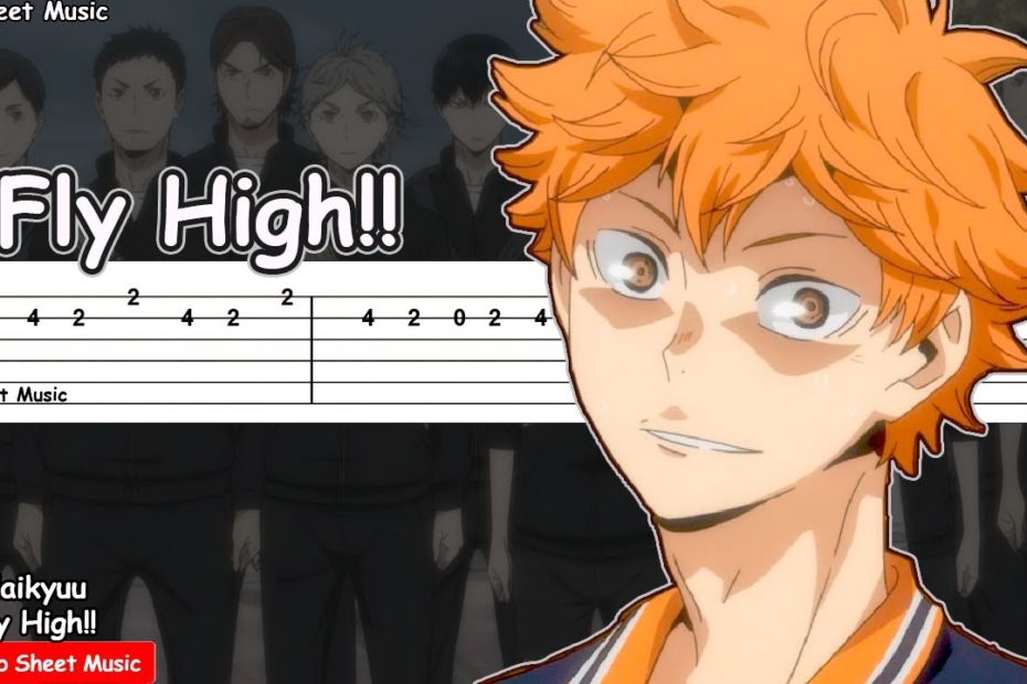 Haikyuu!! Season 2 Opening 2 - Fly High!! Guitar Tutorial | TAB