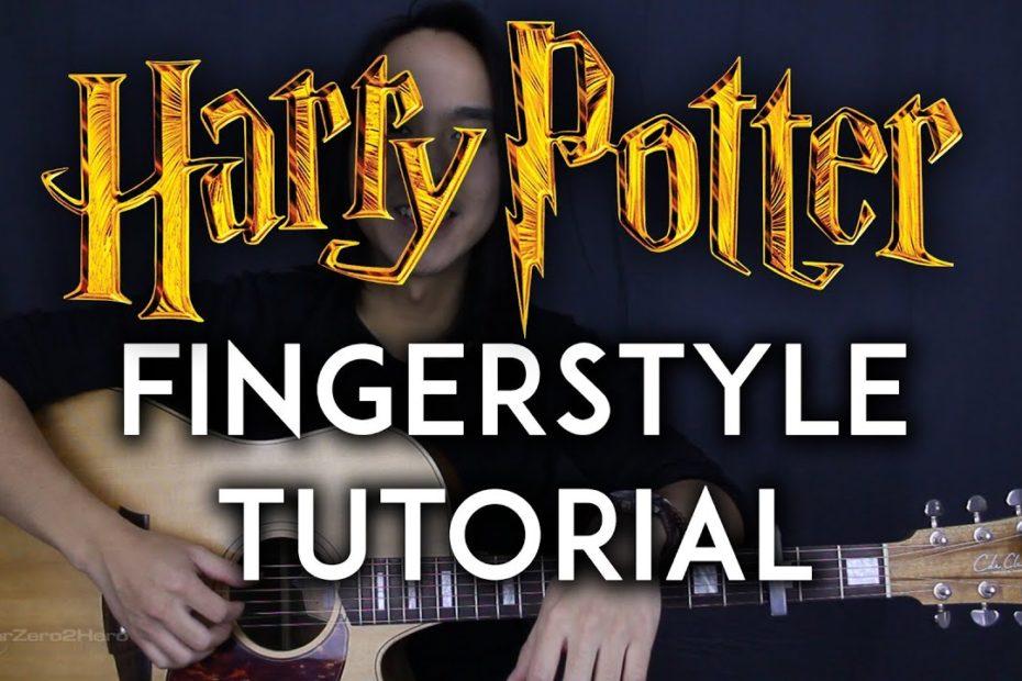Harry Potter Theme Fingerstyle - Eddie Van Der Meer Guitar Tutorial Lesson + Acoustic Cover