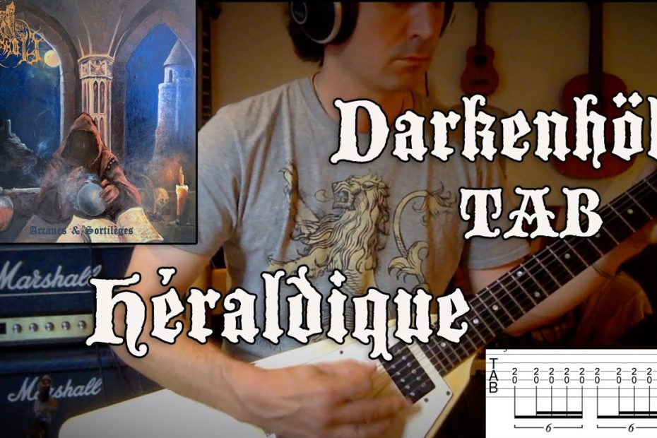 Héraldique - Darkenhöld Cover + TAB