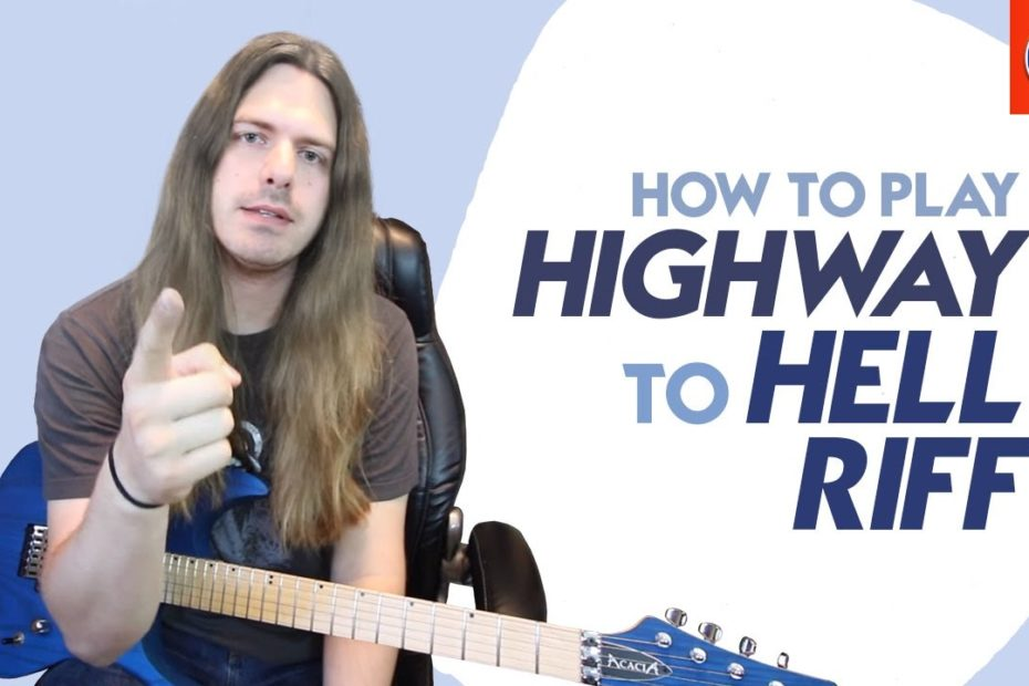 Highway to Hell Guitar Lesson - How to Play Highway to Hell Riff