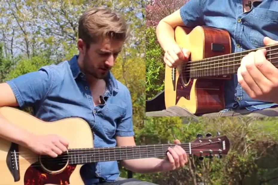 """""""Horse With No Name"""" 2 Chord Song Guitar Lesson with COOL strumming!"""